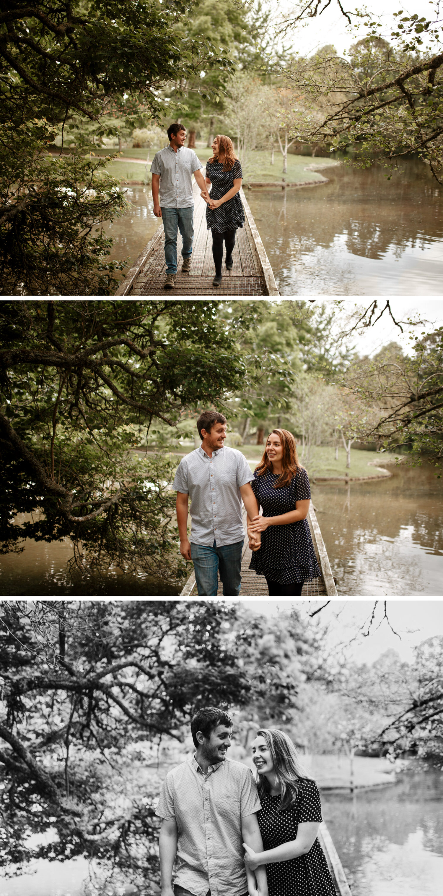 McLaren Falls Park Engagement Photos